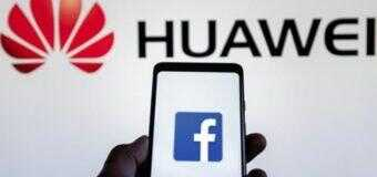Huawei se queda sin Facebook, la mayor red social mundial