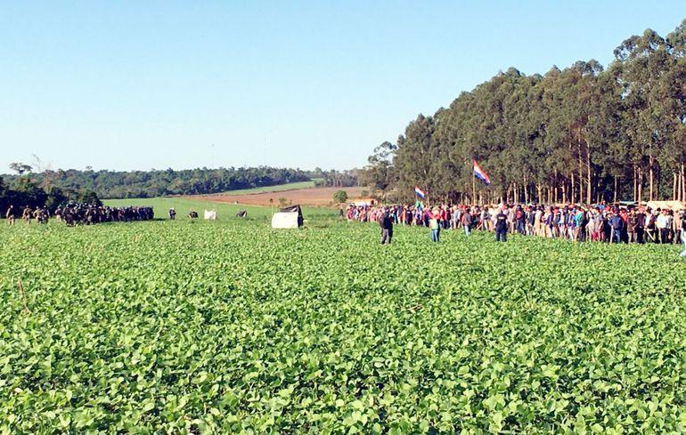 Indert reafirma que tierras ocupadas por campesinos en Caaguazú son privadas