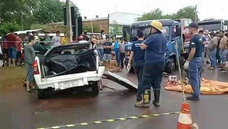 Confirman segundo fallecido en terrible accidente de tránsito