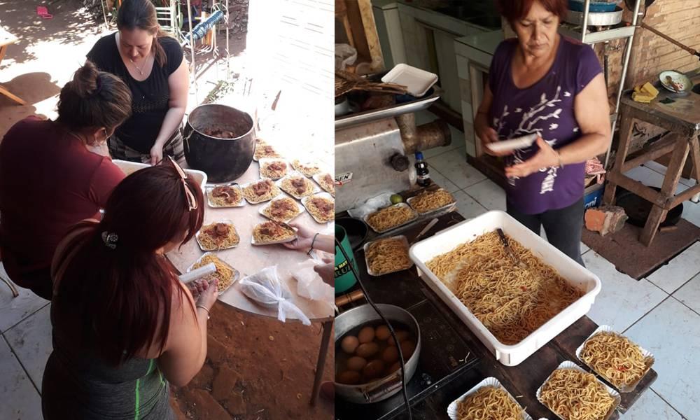 Reparten alimentos en San Juan Nepomuceno