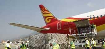 Avión con insumos sanitarios llega al país este viernes