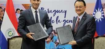 Taiwán donará 280.000 mascarillas a Paraguay