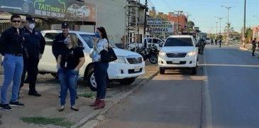 Agentes fiscales acompañan trabajo policial