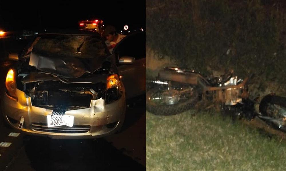 Fatal accidente de tránsito en J. Eulogio Estigarribia