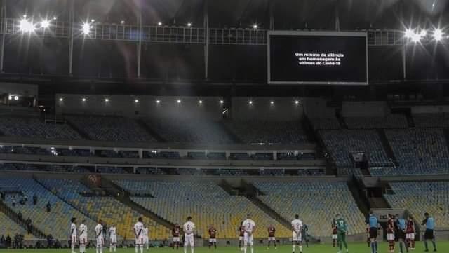 Insólito: En Río de Janeiro vuelve el público a los estadios