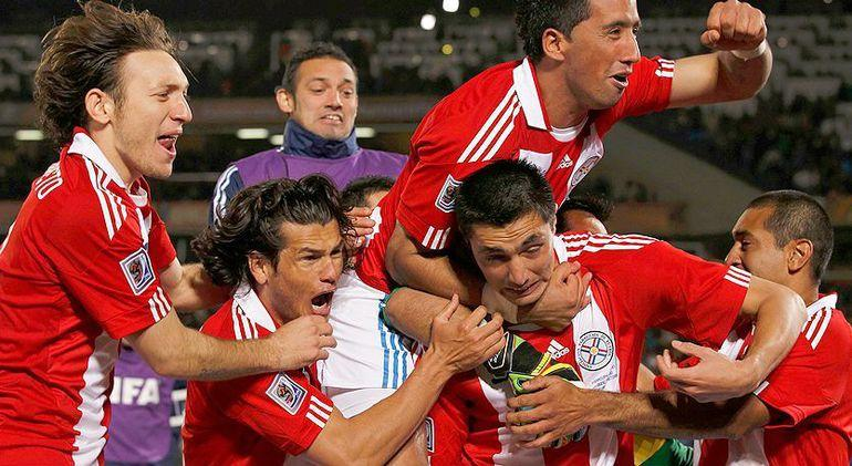 Se cumplen diez años del Mundial de Sudáfrica, el mejor de la historia de Paraguay