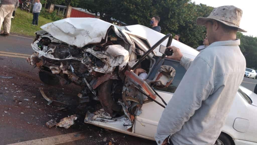 Santa Rosa del Mbutuy; Tres fallecidos en accidente de tránsito