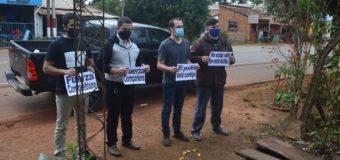 San José de los Arroyos; Llevan  solidaridad ciudadano con Covid-19 positivo