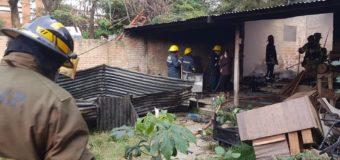 Bomberos sofocan incendio