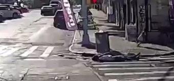 Brutal crimen en Nueva York: buscan al asesino del hombre que caminaba de la mano de su hija