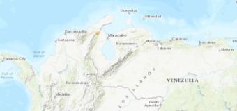 Sismo de magnitud 5,1 sacude la frontera entre Colombia y Venezuela