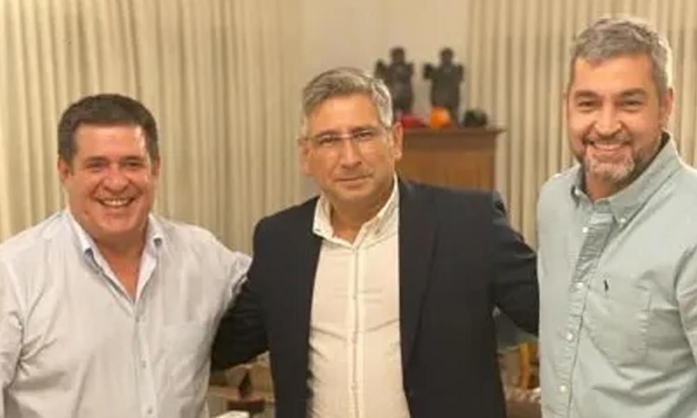 Cartes y Marito se reunieron con gobernadores para trabajar por la unidad colorada