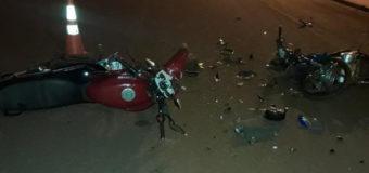 Informan colisión de motocicletas en Coronel Oviedo