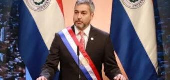 """Mario Abdo pidió """"orar"""" para que termine la corrupción"""