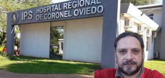 Investigan caso de tentativa de coacción sexual en el IPS de Coronel Oviedo