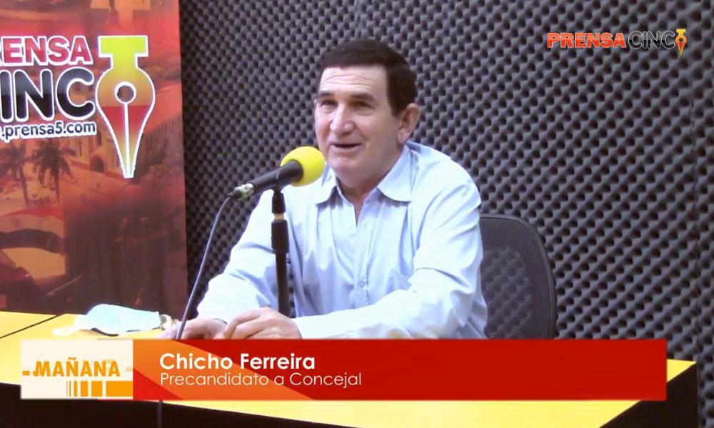 """Chicho Ferreira; """"Al momento de ayudar no pongo ningún tipo de condición"""""""