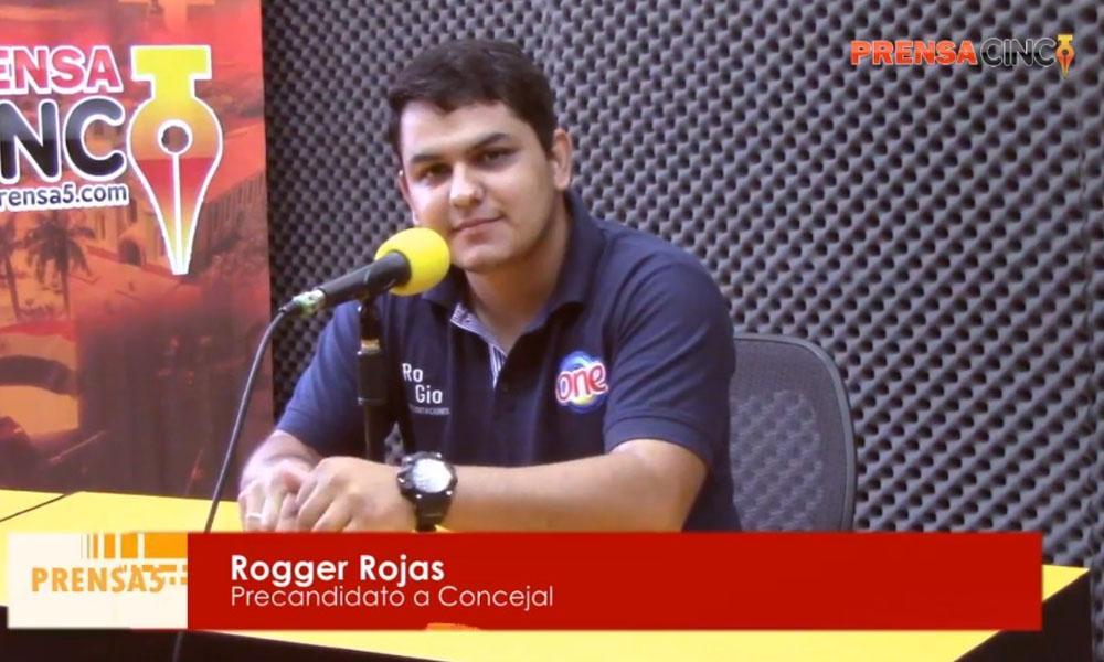 """Rogger Rojas; """"No pretendo repetir el discurso desde hace 25 años atrás"""""""